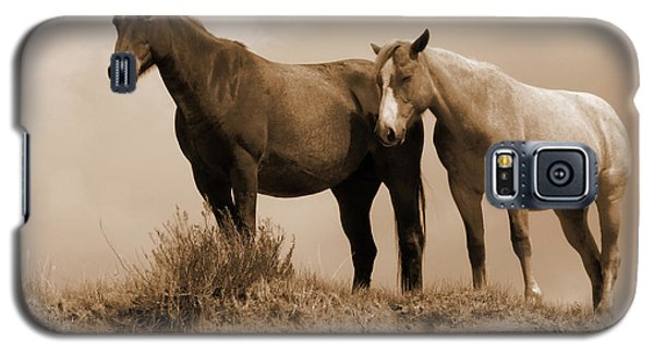 Wild Horses In Western Dakota Galaxy S5 Case