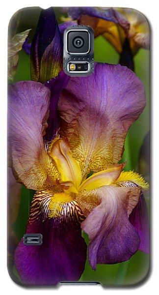 Galaxy S5 Case featuring the photograph Wild Iris by Ben Upham III