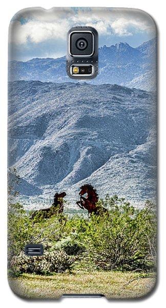 Wild Metal Mustangs Galaxy S5 Case