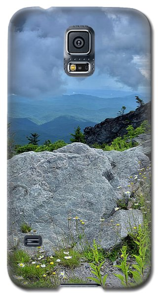 Wild Mountain Flowers Galaxy S5 Case