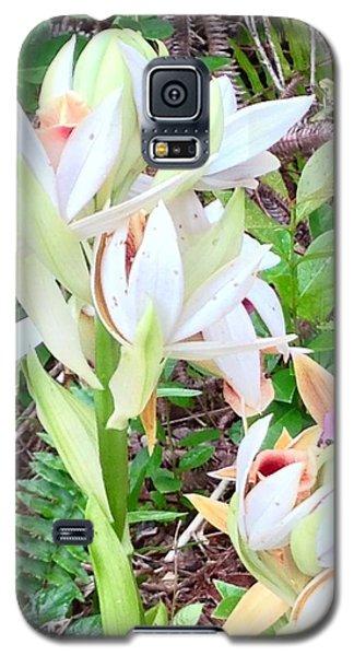 Wild Orchids In Pastel 2 Galaxy S5 Case