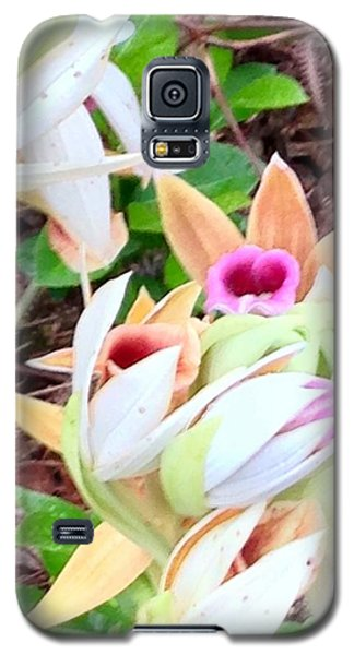 Wild Orchids In Pastel Galaxy S5 Case