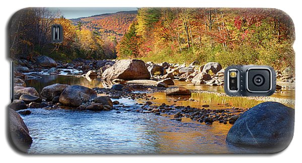 Wild River View Of Scenic Maine Colors Galaxy S5 Case