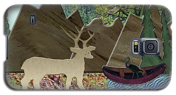 Wild Rural Animals Galaxy S5 Case