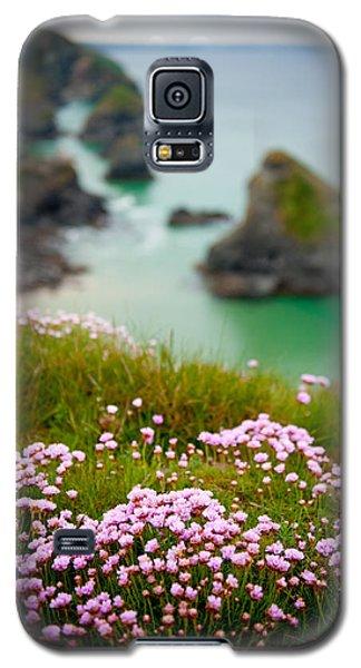 Wild Sea Pinks In Cornwall Galaxy S5 Case