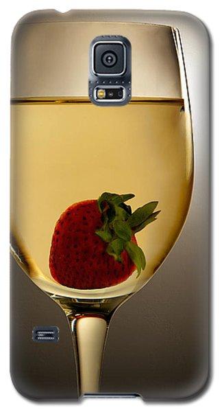 Galaxy S5 Case featuring the photograph Wild Strawberry by Joe Bonita
