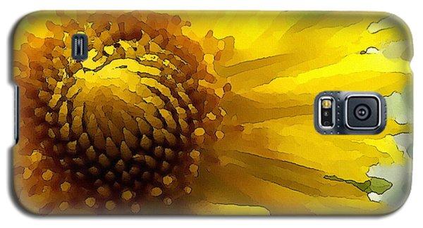 Wild Sunflower Up Close Galaxy S5 Case