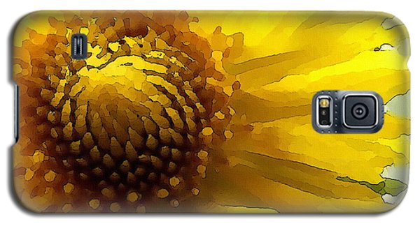 Wild Sunflower Up Close Galaxy S5 Case