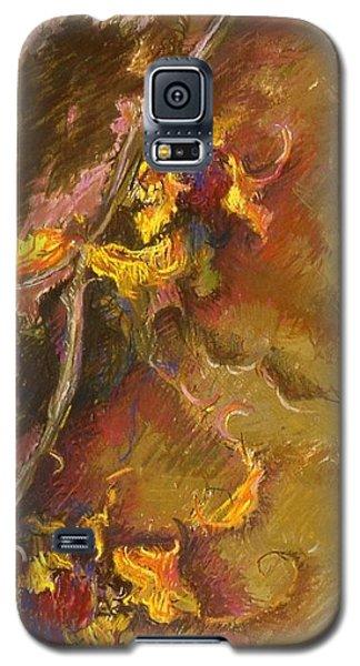 Wild Sunflowers Galaxy S5 Case