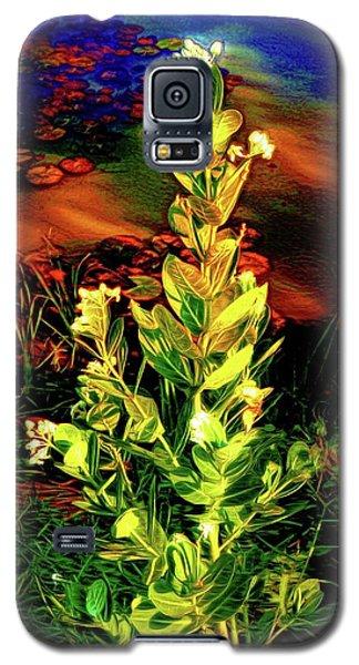 Wild Thai Lake Jasminum - Photo Painting Galaxy S5 Case