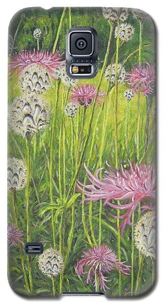 Wild Thistles Galaxy S5 Case