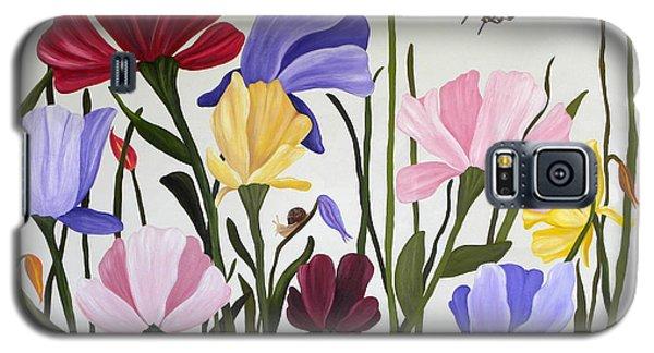 Wild Tulips Galaxy S5 Case by Terri Mills