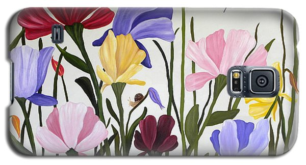 Wild Tulips Galaxy S5 Case