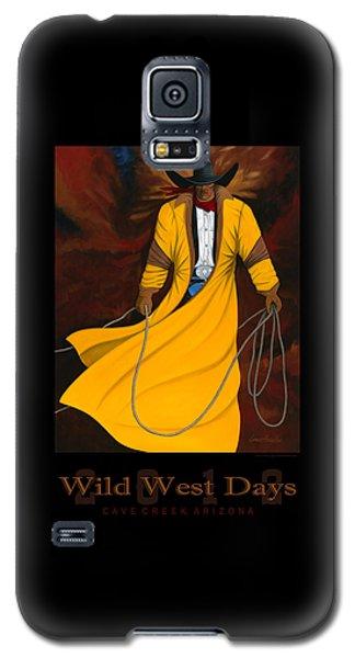 Wild West Days 2012 Galaxy S5 Case