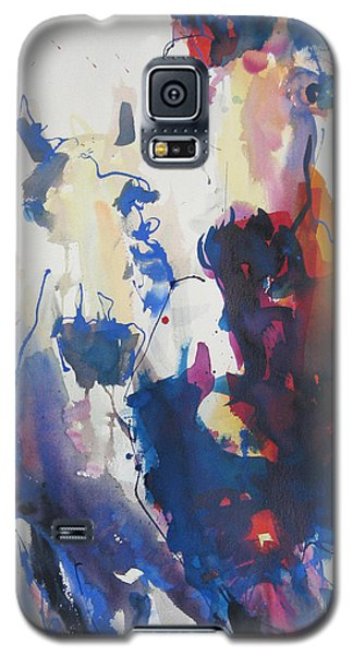 Galaxy S5 Case featuring the painting Wild Wild Horses by Robert Joyner