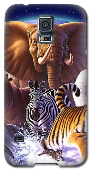 Wildlife Galaxy S5 Case - Wild World by Jerry LoFaro