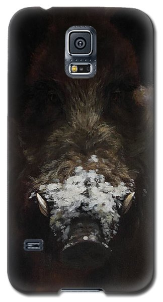 Wildboar With Snowy Snout Galaxy S5 Case