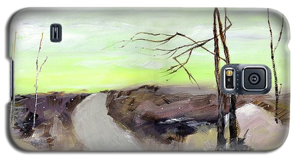 Galaxy S5 Case featuring the painting Wilderness 2 by Anil Nene