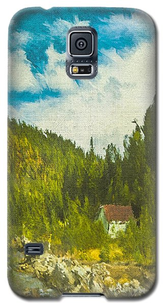 Wilderness Cabin Galaxy S5 Case