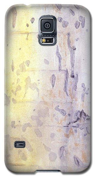 Wilderness Calligraphy - Aspen Tree Galaxy S5 Case
