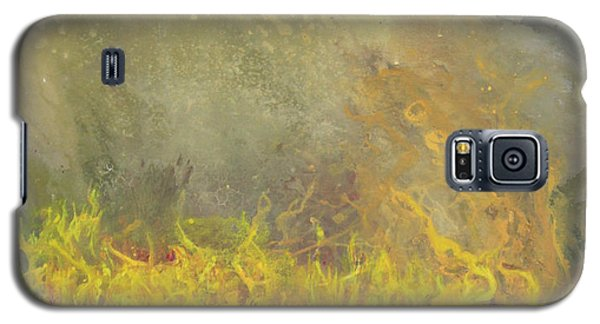 Galaxy S5 Case featuring the painting Wildfire by Antonio Romero