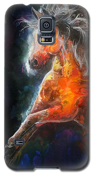 Wildfire Fire Horse Galaxy S5 Case