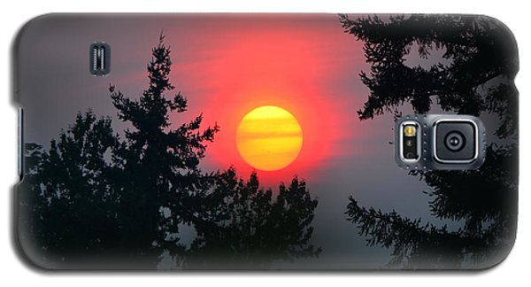Wildfire Sunset Galaxy S5 Case