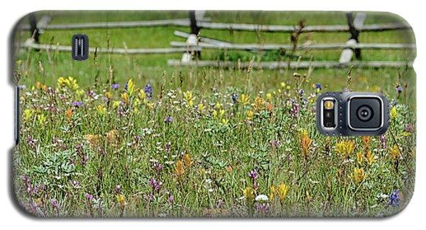Wildflower Fence Galaxy S5 Case