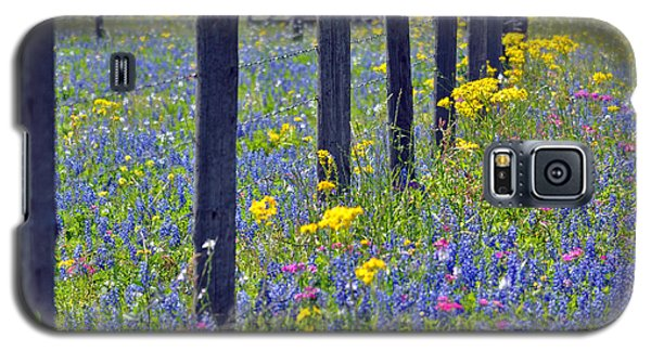 Wildflower Fenceline Galaxy S5 Case