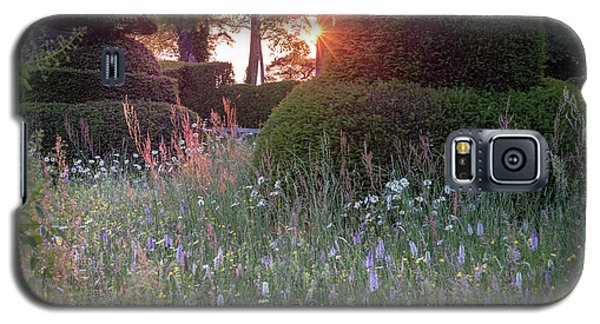 Wildflower Meadow At Sunset, Great Dixter Galaxy S5 Case