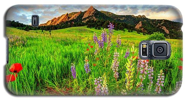 Wildflower Mix Galaxy S5 Case