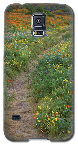 Galaxy S5 Case featuring the photograph Wildflower Trail At Diamond Lake In California by Jetson Nguyen