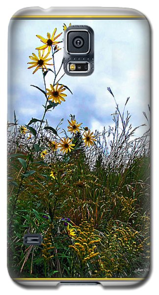 Galaxy S5 Case featuring the photograph Wildflowers And Mentor Marsh by Joan  Minchak