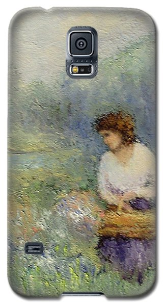 Wildflowers Galaxy S5 Case by Gail Kirtz