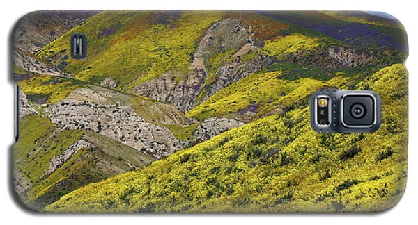 Wildflowers Galore At Carrizo Plain National Monument In California Galaxy S5 Case