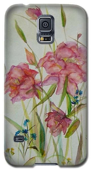 Wildflowers Galaxy S5 Case by Judith Rhue