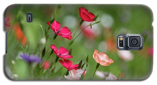 Wildflowers Meadow Galaxy S5 Case