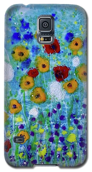 Wildflowers Never Die Galaxy S5 Case