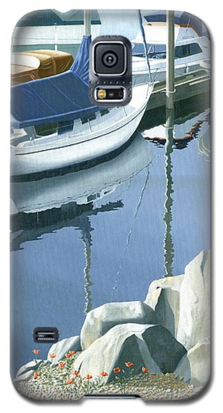 Wildflowers On The Breakwater Galaxy S5 Case
