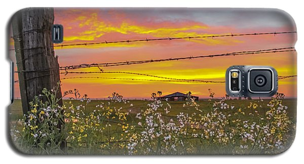 Wildflowers On The Ranch Galaxy S5 Case