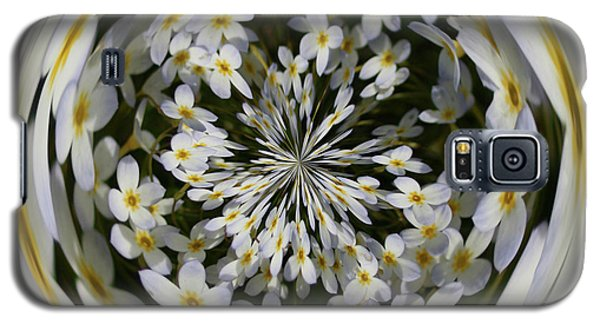 Wildflowers Orb Galaxy S5 Case by Bill Barber
