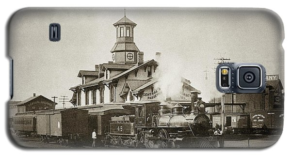 Wilkes Barre Pa. New Jersey Central Train Station Early 1900's Galaxy S5 Case
