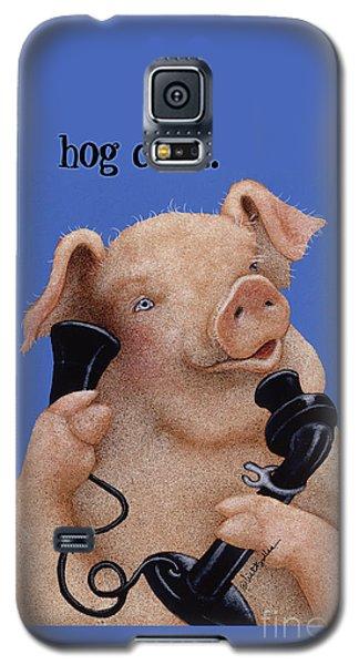 Will Bullas Phone Cover Hog Call  Galaxy S5 Case