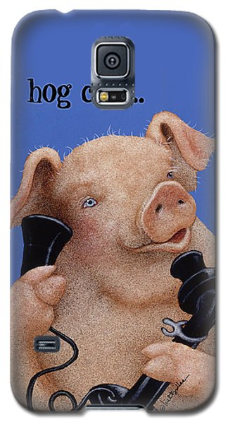 Will Bullas Phone Cover Hog Call  Galaxy S5 Case