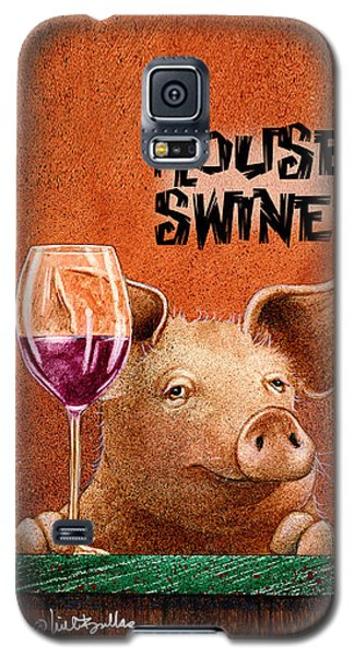 Will Bullas Phone Cover / House Swine Galaxy S5 Case