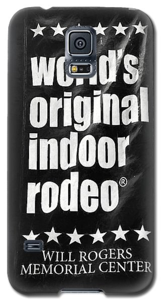 Will Rogers Rodeo Bw Galaxy S5 Case