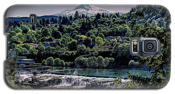 Willamette River Falls Locks Galaxy S5 Case