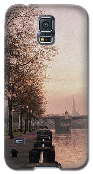 Willamette Riverfront, Portland, Oregon Galaxy S5 Case