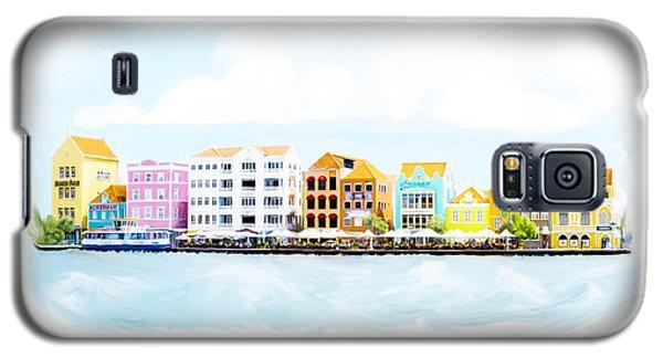 Willemstad Curacao Skyline Galaxy S5 Case