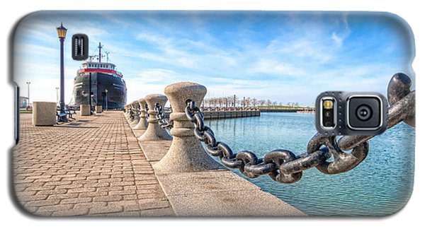 William G. Mather At Harbor Galaxy S5 Case